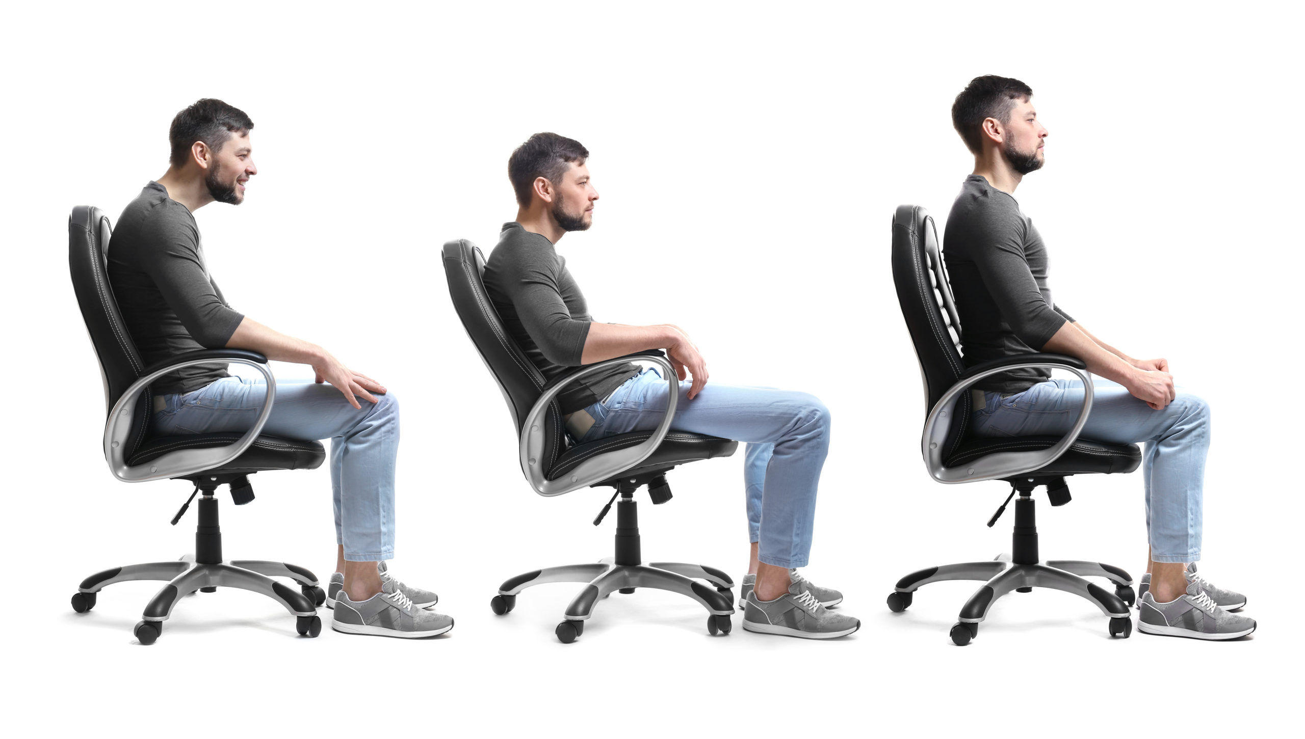 Correct sitting posture is important for your overall health and well-being - Musculoskeletal Physiotherapy Australia - image by APS